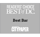 Reader's Choice Best Bar